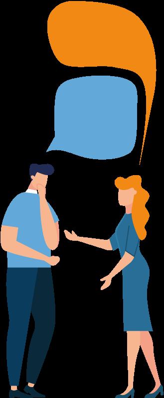 יוצרים קשר עם אנשים